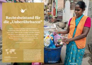 """Projektheft """"Aktion Brot für die Welt - Hunger nach Gerechtigkeit"""", Text Nicole Graaf, Juni 2019"""