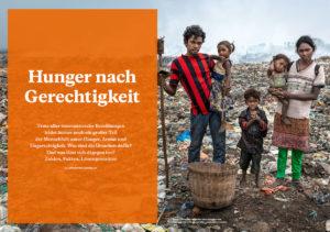 """Projektheft """"Aktion Brot für die Welt - Hunger nach Gerechtigkeit"""", Juni 2019"""