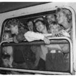 Am 5. Oktober 1989 trifft der erste Zug mit Prager Botschaftsflüchtlingen in Hof ein.