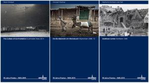 """Gemeinschaftsausstellung """"70 Jahre Frieden 1945 - 2015"""" mit Maxim Dondyuk und Fotografien des Stadtarchivs in Kirchheim unter Teck"""